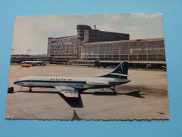 Luchthaven BRUSSEL - NATIONAAL Aeroport ( Thill ) Anno 19?? ( Detail SABENA Caravelle ) ! - Aeronáutica - Aeropuerto
