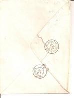 Les Ollières BOITE MOBILE (Ardèche) En Arrivée. Cad Rare. - 1849-1876: Periodo Classico