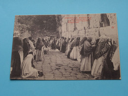 JERUSALEM - The Jews Wailing Place Klagemauer ( 1073 ) Anno 19?? ( See / Voir Photo ) ! - Israele