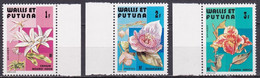 WF-10 – WALLIS & FUTUNA – 1982 – FLOWERS - SG # 392/4 MNH 5,50 € - Unused Stamps