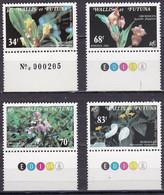 WF-11 – WALLIS & FUTUNA – 1982 – FLOWERS - Y&T # 286/289 MNH 9,50 € - Unused Stamps