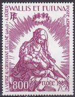 WF-34 – WALLIS & FUTUNA – AIRMAIL - 1989 – CHRISTMAS - PAINTING - SG # 554 MNH 25 € - Unused Stamps