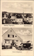CPA Potsdam In Brandenburg, Konsum Verkaufsstelle, Siedlung Eigenheim, Auto - Otros