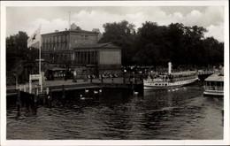 CPA Potsdam In Brandenburg, Dampferstation Potsdam, Restaurant Der Havelhof - Otros