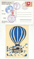 Montgolfières // 2ème Championnat Suisse De Montgolfières, Porrentruy 1981 - Mongolfiere