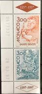 MONACO 1997 MNH STAMP ON EUROPA, SAGEN & LEGENDEN 2 DIFFERENT STAMP - Unused Stamps