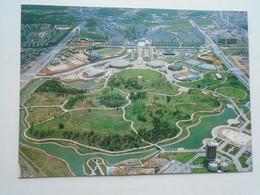 D180168 Seoul - South Korea - 1988 OLYMPIC FAMILY TOWN - Ga Rak Dong, Song Pa-Gu - Aerial View   Stadium Stade - Corea Del Sud