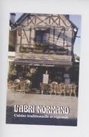 """Gaillon - Restaurant """"L'abri Normand"""" Rue Général De Gaulle - Cuisine Traditionnelle Et Régionale (carte Visite) - Autres Communes"""