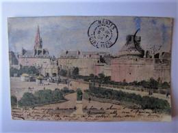 FRANCE - ILLE ET VILAINE - SAINT MALO - Porte Saint-Vincent Et Square - 1904 - Saint Malo