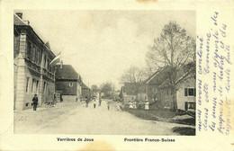 Les Verrières-de-Joux La Douane Frontière Franco-suisse écrite De Pontarlier En 1915 - Altri Comuni