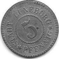 *notgeld  Luneburg  5 Pfennig ND/o.j.   Zn 310.1b - Andere