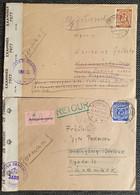 Alliierte Besetzung 1946/47, Brief VORDINGBORG Und GÖTTINGEN Nach Dänemark - Britische Zensur - Mit Inhalt - Amerikaanse, Britse-en Russische Zone
