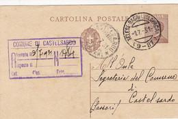Telese Bagni (Solopaca) (Campobasso) Frazionario 9-87 Del 1931 Splendido - Marcofilía