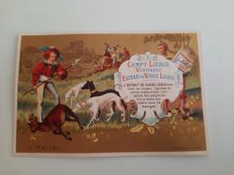CHROMO LIEBIG - CHAMPENOIS - L'HALLALI- Thème De La Chasse à Courre - Liebig