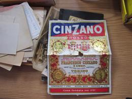 Cinzano Rosso Vermouth Rosso Francesco Cinzano E Comp Torino - Ohne Zuordnung