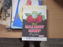 Crystal Cist Malinov Sirup Likeri Beograd - Ohne Zuordnung
