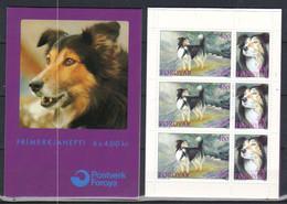 Faroe Islands 1994 Shepherd Dogs Mi  262-263 In Booklet MH 7 MNH(**) - Faroe Islands