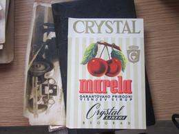Crystal Marela Garantovano Prirodni Visnjev Sirup Likeri Beograd - Non Classés