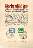 ALLEMAGNE / CATALOGUE MICHEL N° 669 Et 670  YVERT PA N° 57 Et 58 FEUILLET PREMIER JOUR - Briefe U. Dokumente