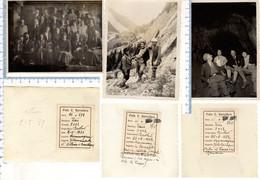 N° 3 Foto Del 1931 E 32 COURMAYEUR - Dentro Il Trousdu Romani - - Aosta