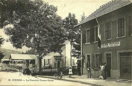 96 Jougne La Ferrière-sous-Jougne Vallorbe Douanes édit Faivre-Locca Pontarlier Animée - Other Municipalities