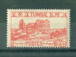 TUNISIE - N° 282** MNH  LUXE SCAN DU VERSO. - Ongebruikt