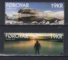 Faroe Islands  2019 Lakes, Leynavatn  And Eiðisvatn  Mi  946-947 MNH(**) - Faroe Islands