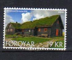 Faroe Islands  2019 SEPAC: Historic Apartment Buildings.  Mi  950 MNH(**) - Faroe Islands
