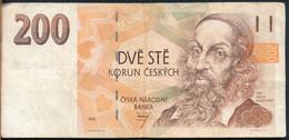 °°° CZECH REPUBLIC - 200 KORUN 1993 °°° - Tschechien