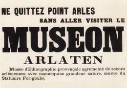 Arles Museon Arlaten Selon Frédéric Mistral - Arles