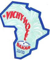 VICHY HOTEL . DAKAR - Etiquettes D'hotels