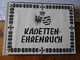 """""""Kadetten-Ehrenbuch"""" Von Eberhard Scharenberg.1973 - Andere"""