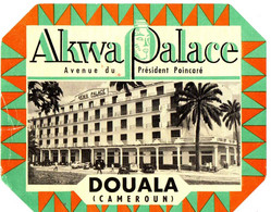 AKWA PALACE . DOUALA . CAMEROUN - Etiquettes D'hotels