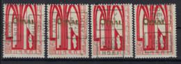 Zegel Nr. 258 ORVAL Voorafgestempeld Nr. 4887  A + B + C + D    HUY  1929  HOEI , staat Zie Scan ! - Roller Precancels 1920-29