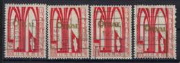 Zegel Nr. 258 ORVAL Voorafgestempeld Nr. 4888  A + B + C + D    ISEGHEM  1929 , staat Zie Scan ! - Roller Precancels 1920-29