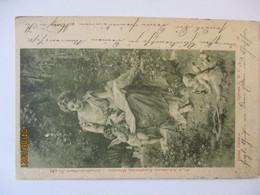 Frau Engel Putten, Hans Zatzka, Liebes ABC, 1900 (19100) - 1900-1949