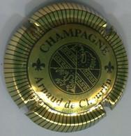 CAPSULE-CHAMPAGNE CHEURLIN ARNAUD DE N°06 Or & Noir Striée - Other