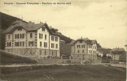 Vallorbe Douanes Françaises Pavillons Du Service Actif éd Mary Chaulmontet écrite En 1916 Convoyeur Vallorbe Pontarlier - VD Vaud