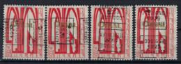 Zegel Nr. 258 éérste ORVAL Voorafgestempeld Nr. 4889  A + B + C + D  JODOIGNE  1929  GELDENAKEN   ; Staat Zie Scan ! - Roller Precancels 1920-29