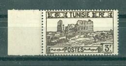 TUNISIE - N° 284** MNH  LUXE SCAN DU VERSO. Bord De Feuille. - Ongebruikt