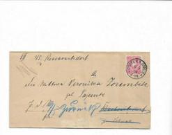 Brief Aus Cosel ( Heute Polen ) Nach Lohnau 1884 - Covers & Documents