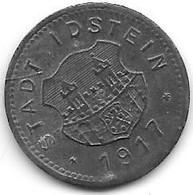 *notgeld  Idstein 10 Pfennig 1917 Zn   225.1 - Other