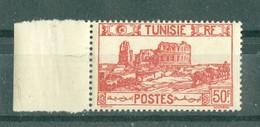 TUNISIE - N° 297** MNH  LUXE SCAN DU VERSO. Bord De Feuille. - Ongebruikt