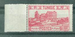 TUNISIE - N° 298** MNH  LUXE SCAN DU VERSO. Bord De Feuille. - Ongebruikt