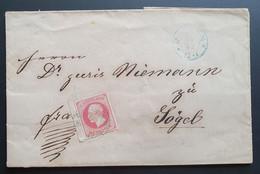 Hannover, Brief Mi 23 Randnummer - Hanover
