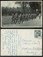 WW II Postkarte : Soldaten Gruss Vom Truppenübungsplatz Ohrdruff ,gebraucht Ohrdruff - Leverkusen , Eckbug ,Bedarfserh - Covers & Documents