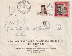 PORTUGAL 1947 LETTRE DE PORTO - Covers & Documents