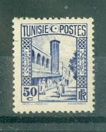 TUNISIE - N° 171** MNH  LUXE SCAN DU VERSO. - Ongebruikt