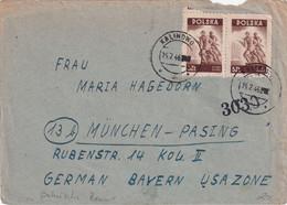 POLOGNE 1946 LETTRE DE KALINOWO - Brieven En Documenten