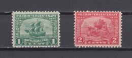 US 1920 Landing At Plymouth Stamp 1c & 2c,Scott# 548-849,OG MNH ,VF - Unused Stamps